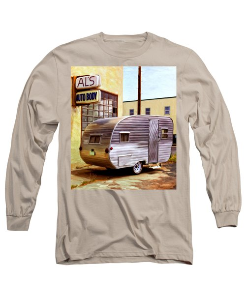 Becky's Vintage Travel Trailer Long Sleeve T-Shirt
