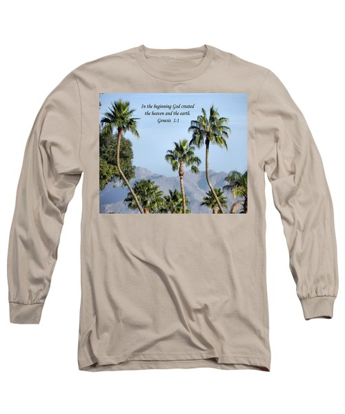 Long Sleeve T-Shirt featuring the photograph Beginning by Deb Halloran
