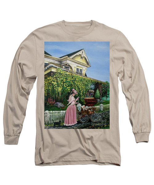 Behind The Garden Gate Long Sleeve T-Shirt