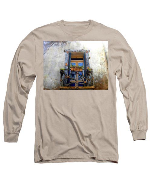 Behind The Window ... Long Sleeve T-Shirt