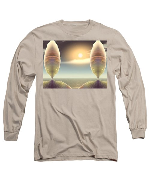 Being There Long Sleeve T-Shirt by Wendy J St Christopher