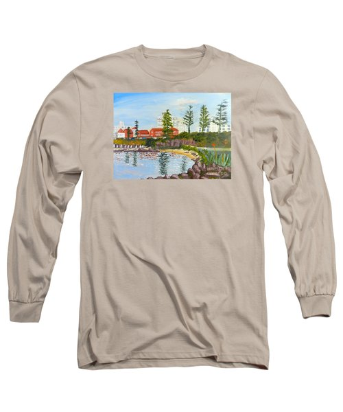 Belmore Basin From The North Sea Wall Long Sleeve T-Shirt by Pamela  Meredith