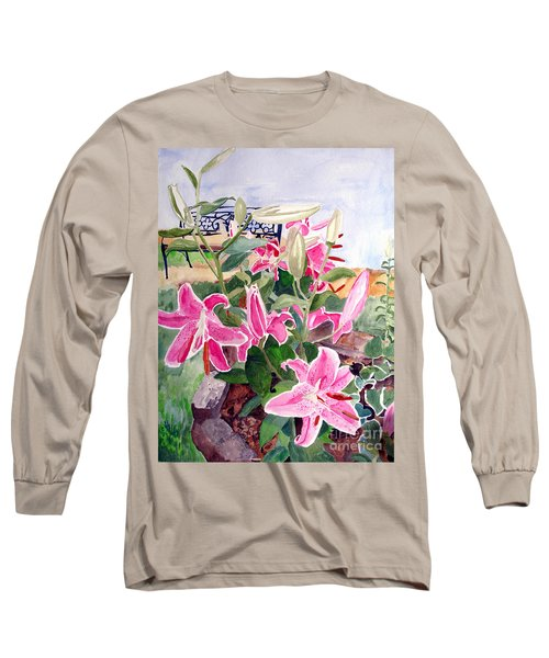 Bench On A Hill Long Sleeve T-Shirt