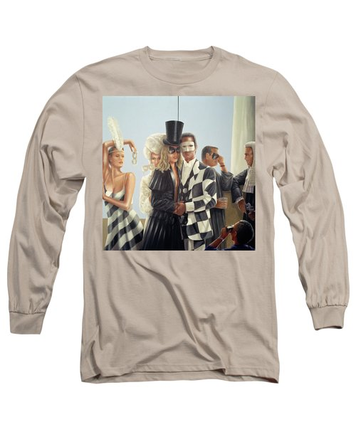 Berkley Hotel Mural - 1 Long Sleeve T-Shirt