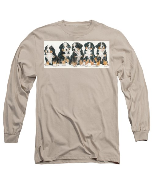 Bernese Mountain Dog Puppies Long Sleeve T-Shirt