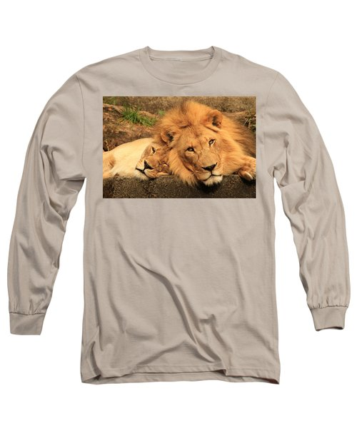 Best Friends For Life Long Sleeve T-Shirt by Laddie Halupa