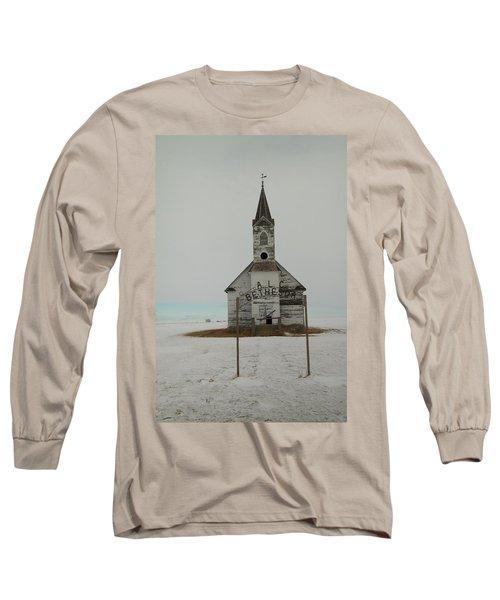 Bethesda Lutheren Church Western North Dakota Long Sleeve T-Shirt