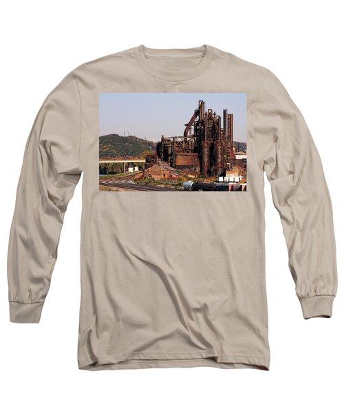 Bethlehem Steel # 8 Long Sleeve T-Shirt