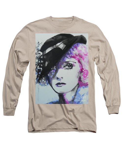 Bette Davis 02 Long Sleeve T-Shirt
