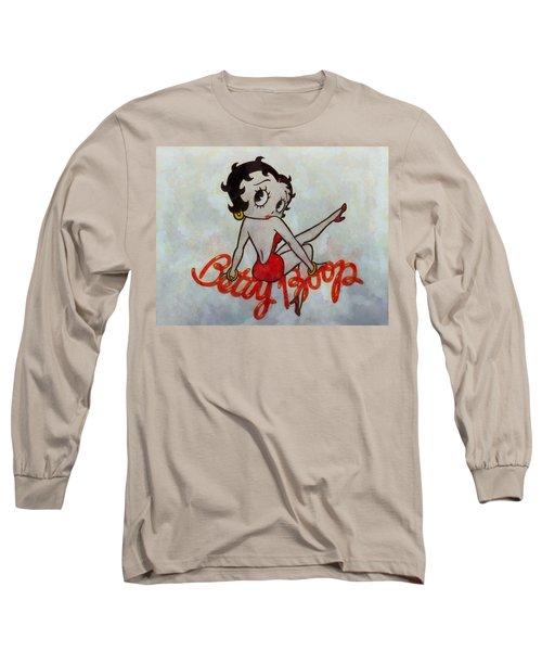 Betty Boop Long Sleeve T-Shirt