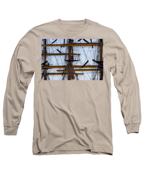 Between Masts And Ropes Long Sleeve T-Shirt