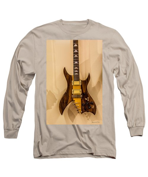 Bich Electric Guitar Colored Long Sleeve T-Shirt