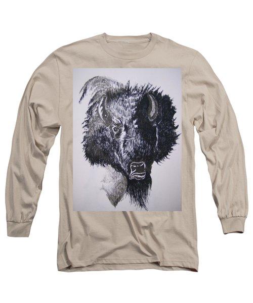 Big Bad Buffalo Long Sleeve T-Shirt