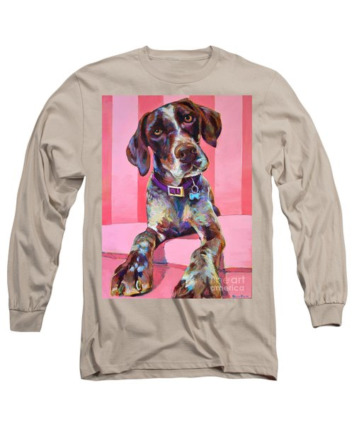 Long Sleeve T-Shirt featuring the painting Big Hank by Robert Phelps
