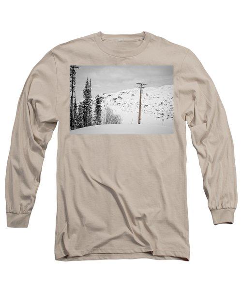 Big Horn Sheep Hinton Hillside Long Sleeve T-Shirt