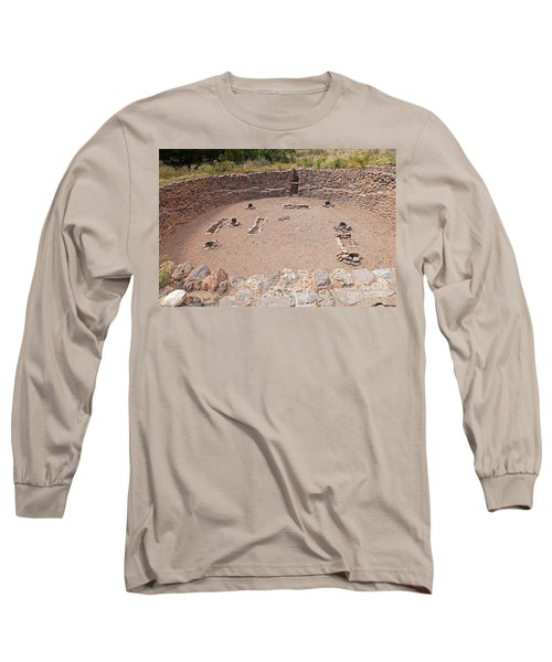 Big Kiva Bandelier National Monument Long Sleeve T-Shirt
