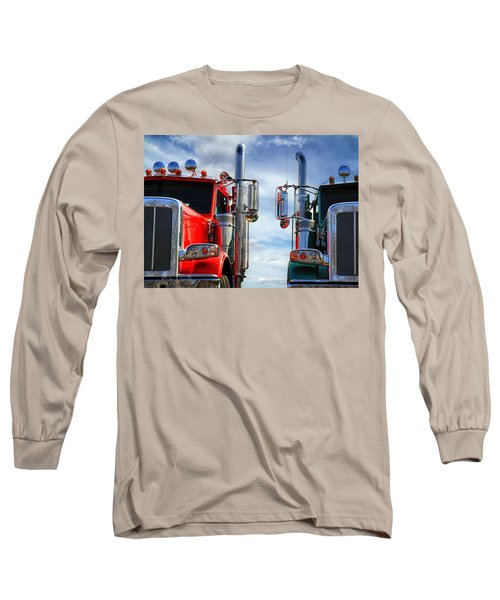 Big Trucks Long Sleeve T-Shirt