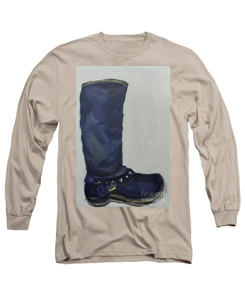 Biker Boot Long Sleeve T-Shirt