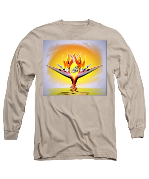 Long Sleeve T-Shirt featuring the photograph Bird Of Paradise by Joyce Dickens