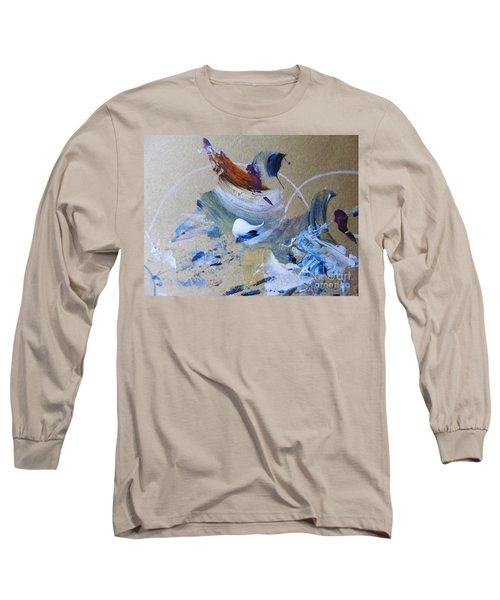Bird Song Long Sleeve T-Shirt by Nancy Kane Chapman