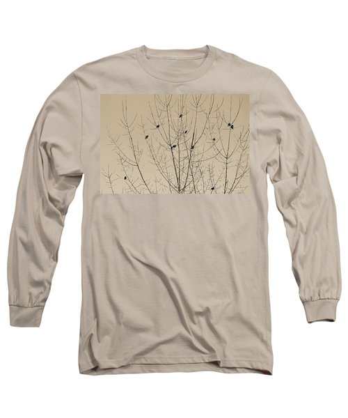 Birds Gather Long Sleeve T-Shirt