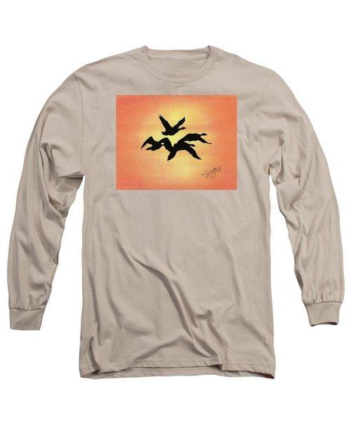 Birds Of Flight Long Sleeve T-Shirt