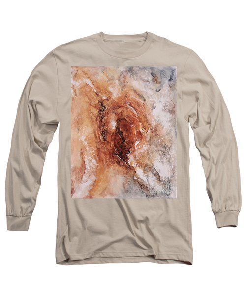 Birth Of The Earth 01 Long Sleeve T-Shirt by Emerico Imre Toth