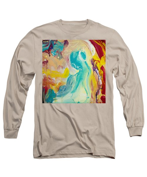 Birthing Chamber Long Sleeve T-Shirt by Kelly Turner