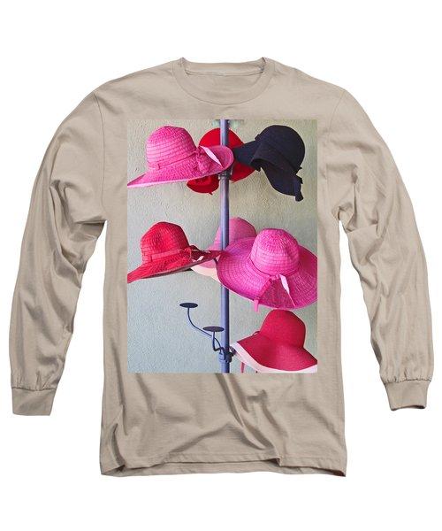 Black Chapeau Of The Family Long Sleeve T-Shirt