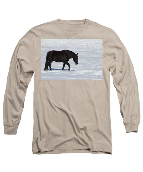 Long Sleeve T-Shirt featuring the photograph Black Magic by Fiona Kennard