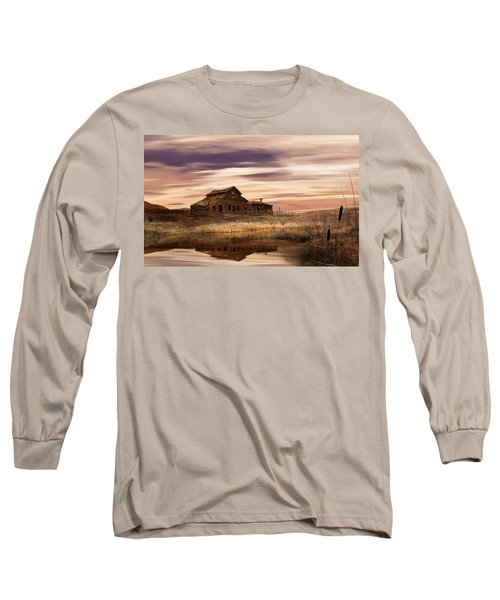 Black Sage Dawn Long Sleeve T-Shirt by John Poon