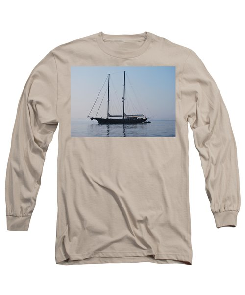Black Ship 1 Long Sleeve T-Shirt