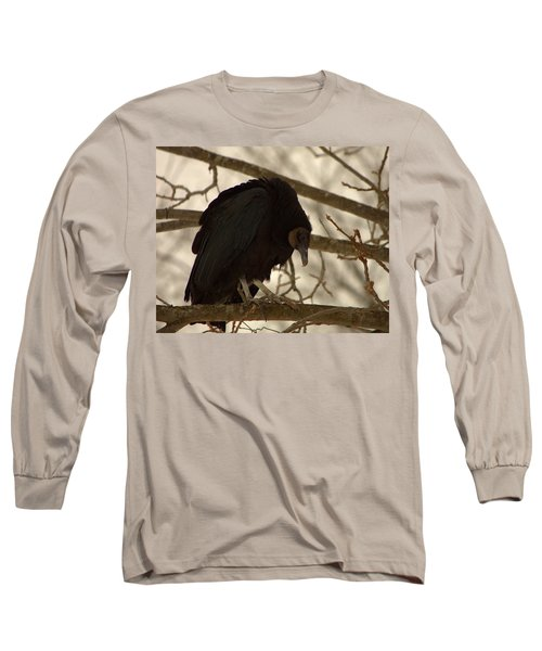 Black Vulture 4 Long Sleeve T-Shirt