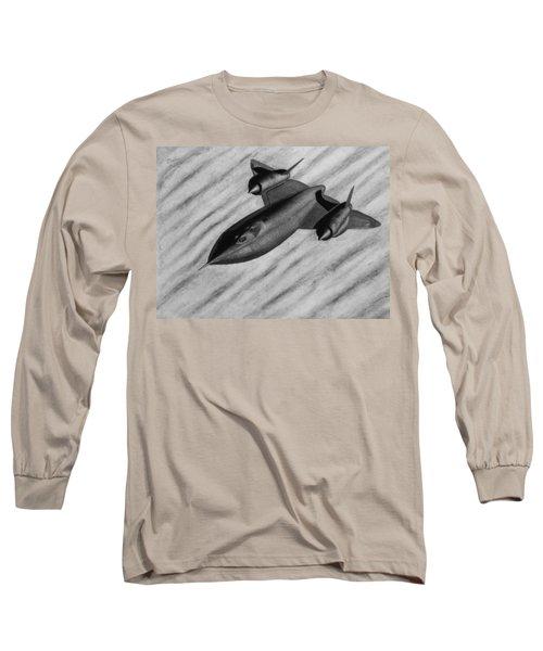 Blackbird Long Sleeve T-Shirt by Vishvesh Tadsare