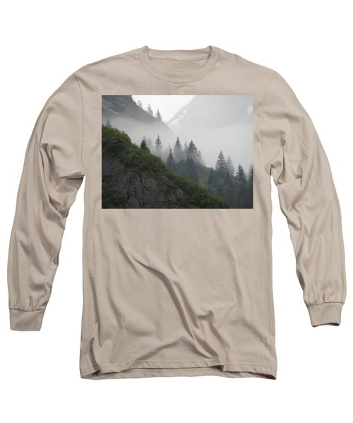 Blanket Of Fog Long Sleeve T-Shirt by Jennifer Wheatley Wolf