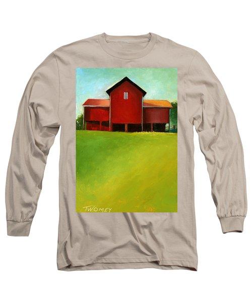 Bleak House Barn 2 Long Sleeve T-Shirt by Catherine Twomey
