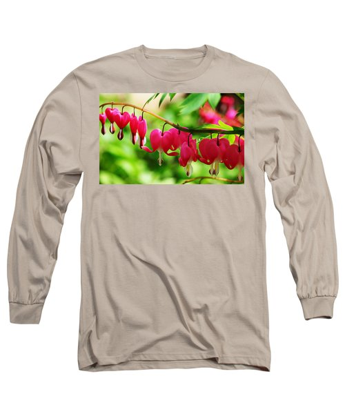 Romantic Bleeding Hearts Long Sleeve T-Shirt