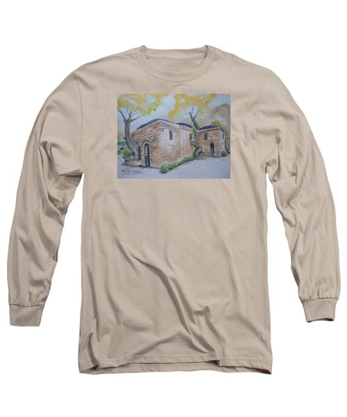 Blessed Mother's Home Long Sleeve T-Shirt by Marilyn Zalatan