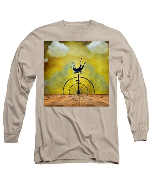 Blind Date Long Sleeve T-Shirt by Ally  White