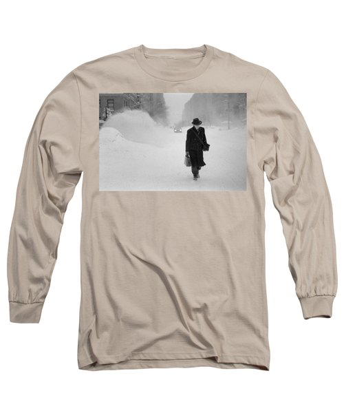 Blizzard On Park Avenue Long Sleeve T-Shirt