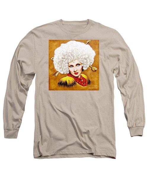 Blonde Venus Long Sleeve T-Shirt by Joseph Sonday