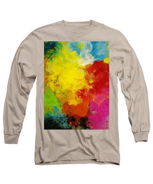 Spring Fling Long Sleeve T-Shirt by Kelly Turner