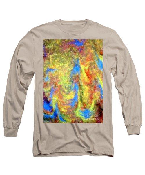 Blue Ascension Long Sleeve T-Shirt by Barbie Corbett-Newmin