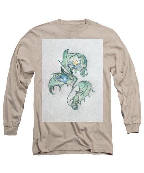 Blue Blossom 2 Long Sleeve T-Shirt