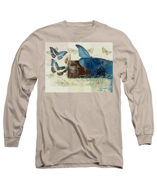 Blue Butterfly - J152164152-01 Long Sleeve T-Shirt