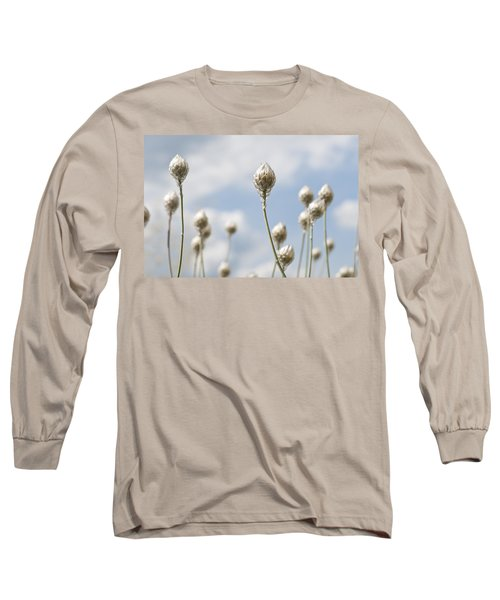 Blue Cupidone Long Sleeve T-Shirt by Lana Enderle