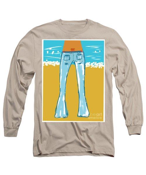 Blue Jean Summer Long Sleeve T-Shirt