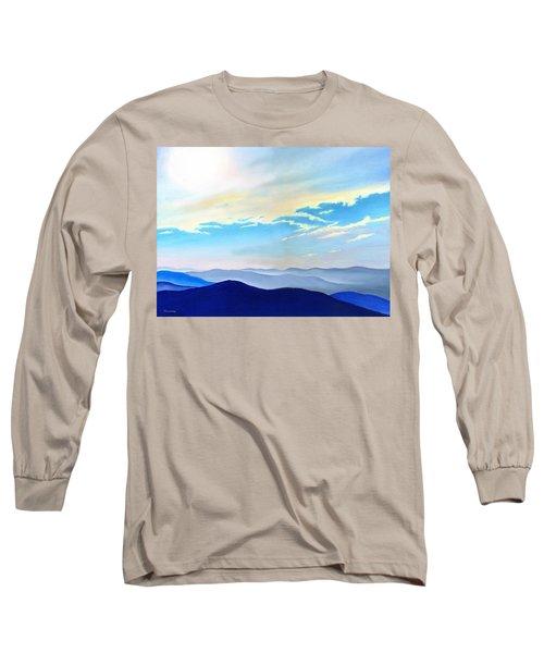Blue Ridge Blue Above Long Sleeve T-Shirt