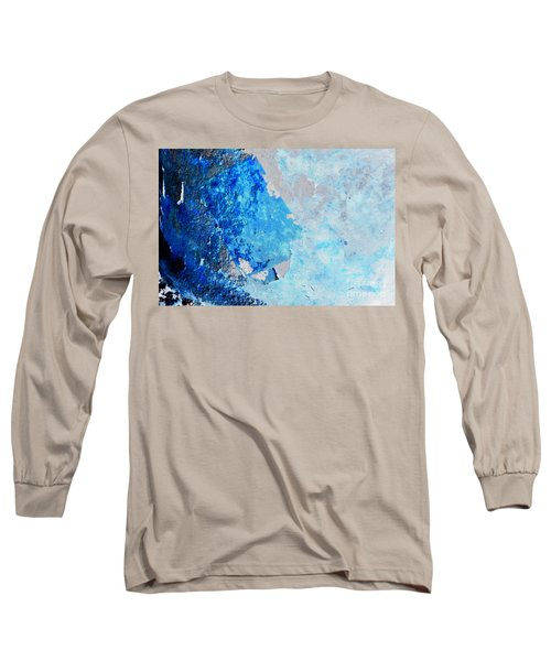 Long Sleeve T-Shirt featuring the photograph Blue Rust by Randi Grace Nilsberg