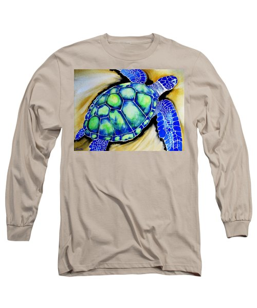 Blue Turtle Long Sleeve T-Shirt